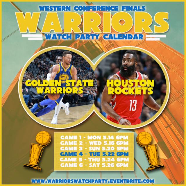 Rockets Vs Warriors Game 7 Where: Era Art Bar And Lounge: Calendar